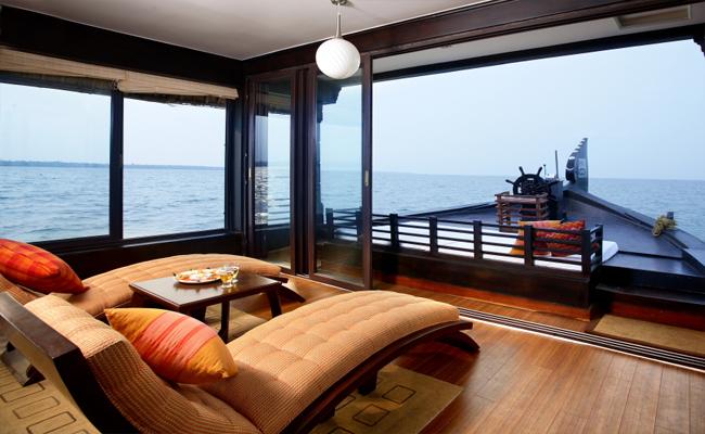 rainbow cruises allepey  kerala houseboat kettuvallam