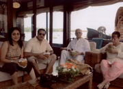 Gulzar, famous lyricist, Rakhee former Bollywood actress